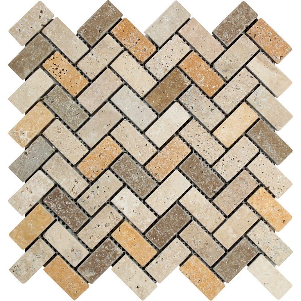 The Hottest Tiling Trend: Herringbone Tiles